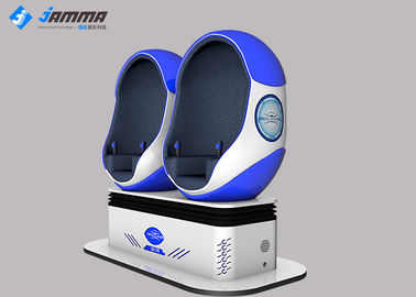 360 Rotation Virtual Reality Simulator Two Seats VR Cinema For Amusement Park